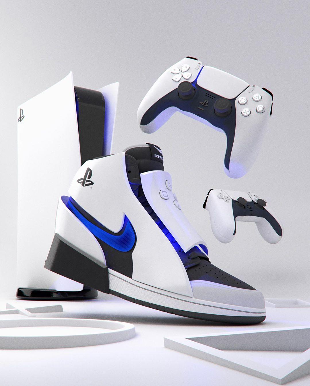 Air Jordan 1 x PlayStation 5 by Chris Le | RESPAWWN
